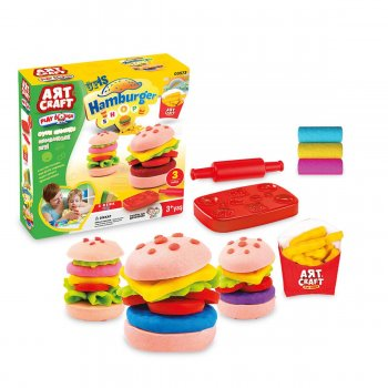 Art Craft Oyun Hamuru Hamburger Seti 150 Gr Dede 03573