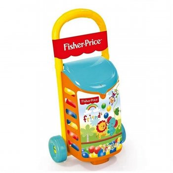 Fisher Price Çek Çek Araba Ve Toplar Dolu 1814
